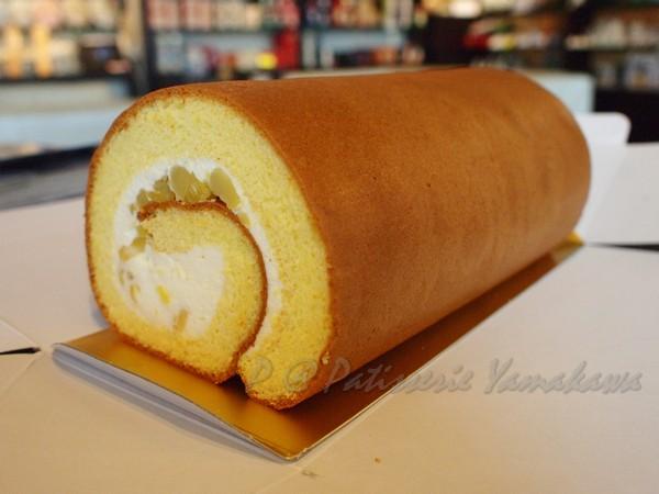 Patisserie Yamakawa -- 栗子捲蛋糕