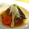 鳥羽 -- 味噌煮鯖魚