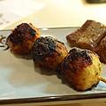 鳥羽 -- 味噌烤雞肉丸