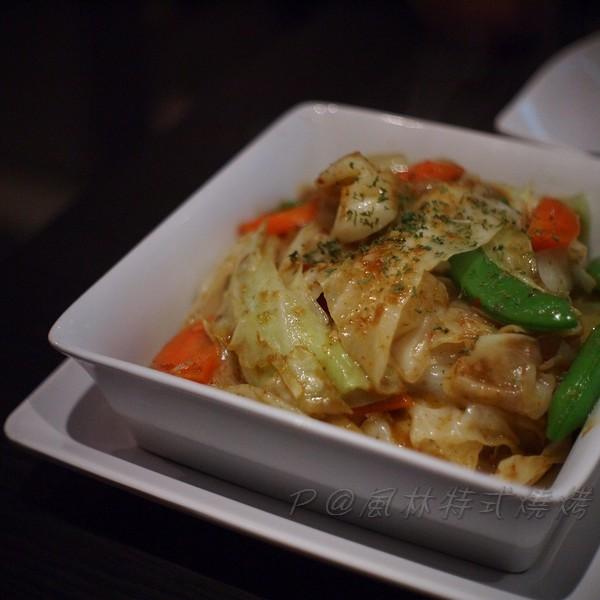 風林 -- 咖喱炒雜菜