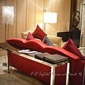 澳門十六浦索菲特大酒店 -- 某套房的客廳