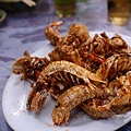 石獅美食 - 椒鹽蝦蛄
