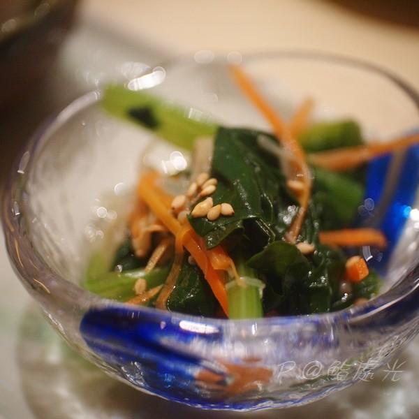 鮨処光 - 涼拌小松菜