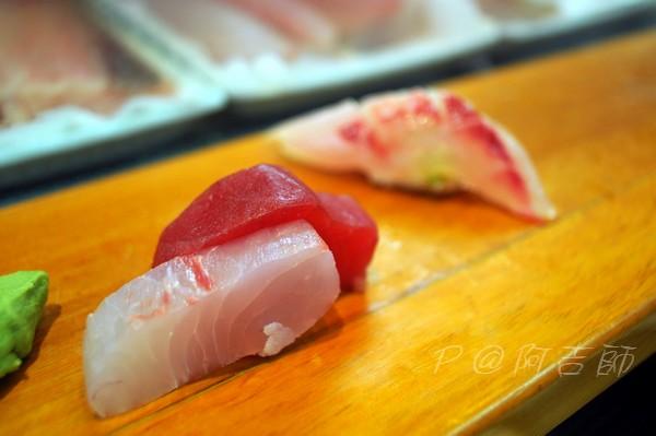 阿吉師 - 鮪魚赤身 & 旗魚