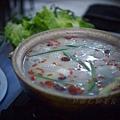 石獅美食 -- 糯米酒肉丸鍋