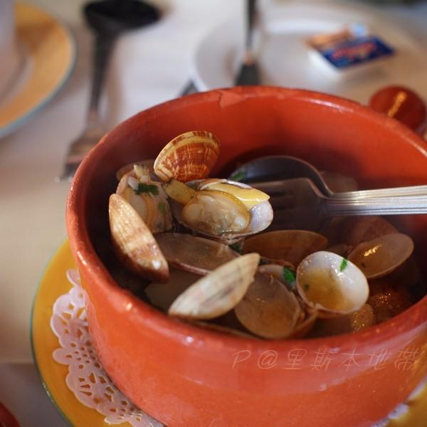 里斯本地帶 -- 白酒炒蜆