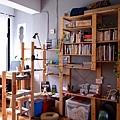 Ki 厝 - 三樓書房的書架