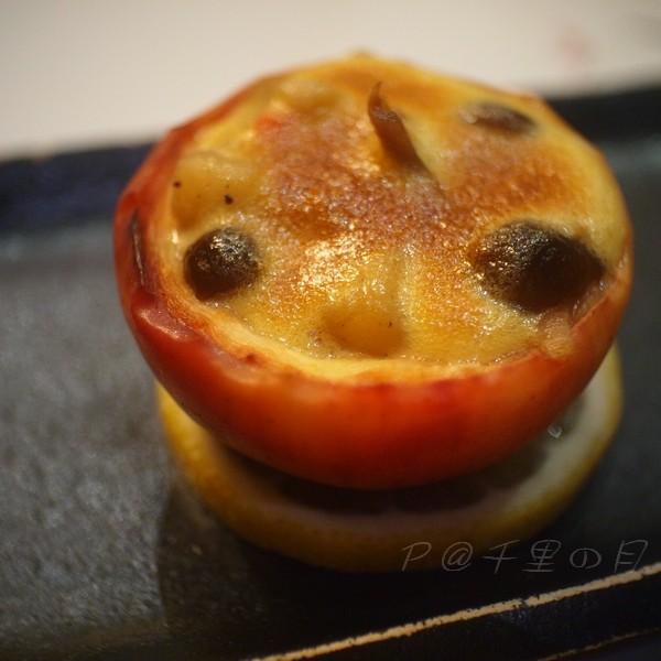 千里の月 -- 雜菌奶油醬汁烤鑲蘋果