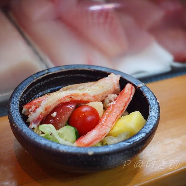 阿吉師 - 松葉蟹腳沙拉
