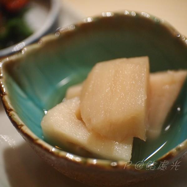 鮨処光 - 漬蓮藕