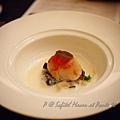 澳門十六浦索菲特大酒店 -- 香煎帆立貝伴白味噌湯、鮮菇及葡國香腸