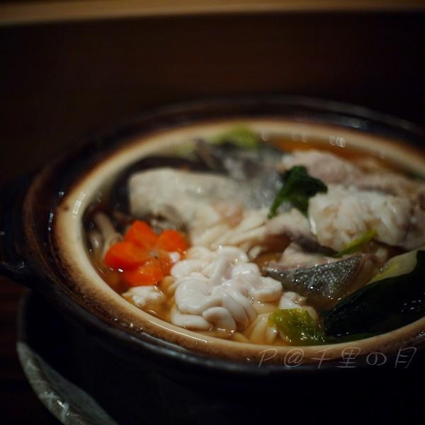 千里の月 -- 白子鱈魚鍋