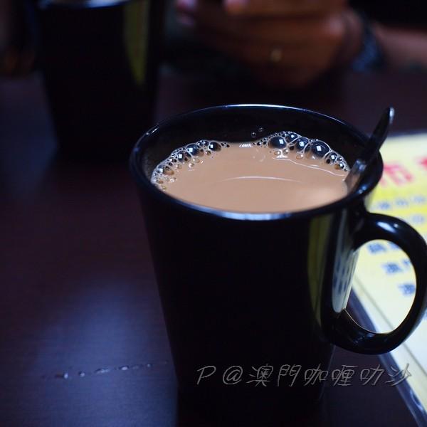 澳門咖喱叻沙 - 奶茶