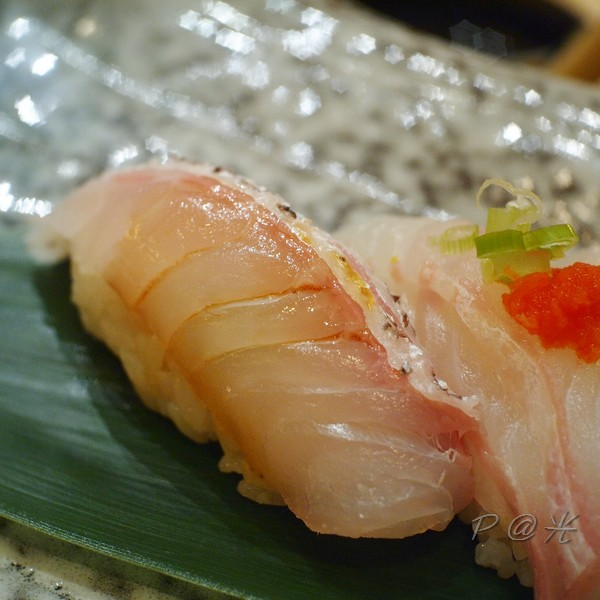 鮨処 光 - 真鯛壽司