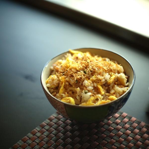 海賀 -- 山椒小魚炒飯