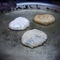 老宜蘭三星蔥包 - 蔥包烹煎中