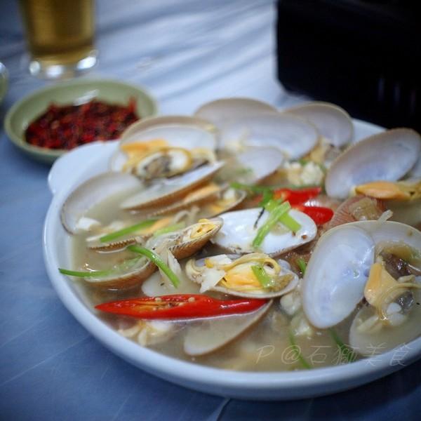 石獅美食 -- 油鹽水花蛤