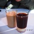 強記 - 茶走 (紅茶 + 鍊乳)、咖啡