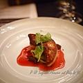 澳門十六浦索菲特大酒店 -- 香煎法國鴨肝伴木槿花糖漿