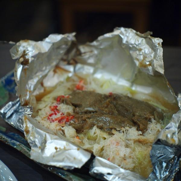 魚八水產 -- 蟹味噌烤蔬菜