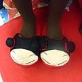 好可愛耶 林佑倫的拖鞋
