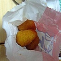 薯球好吃但很怪而且可以不要灑梅粉會更好