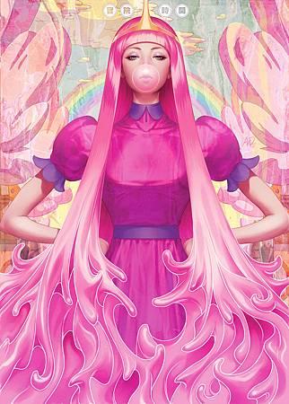 泡泡糖公主原圖