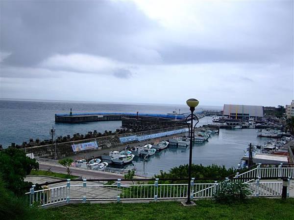 遠眺觀光碼頭