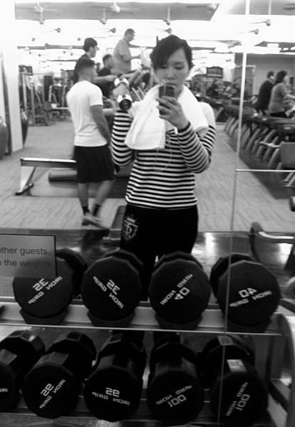 Gym @ Bellagio Vegas