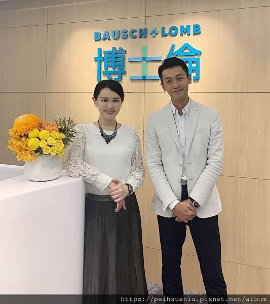 呂佩璇醫師 美國電波拉提 參觀美國博士倫公司.JPG