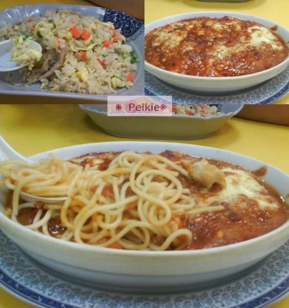 景美炒飯焗麵