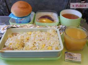 長榮航空上難吃的早餐