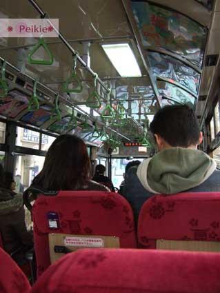 往金閣寺的公車