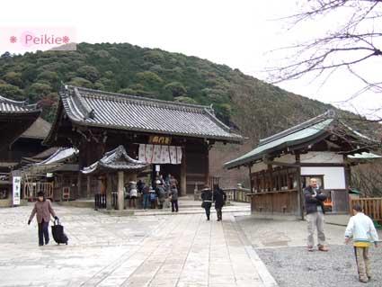 清水寺門口,右邊是售票亭