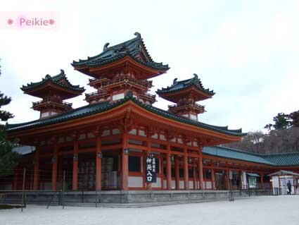 平安神宮左邊-神苑入口