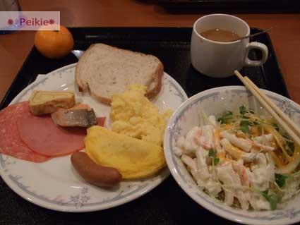 Plaza Hotel的自助式早餐