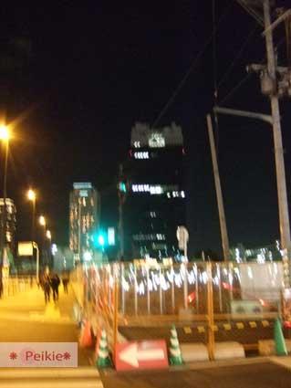 大阪-往新梅田城的路上