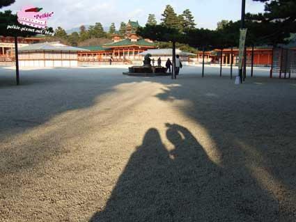 平安神宮悠閒午后