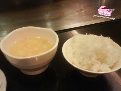 尚林鐵板燒-濃湯&飯.jpg