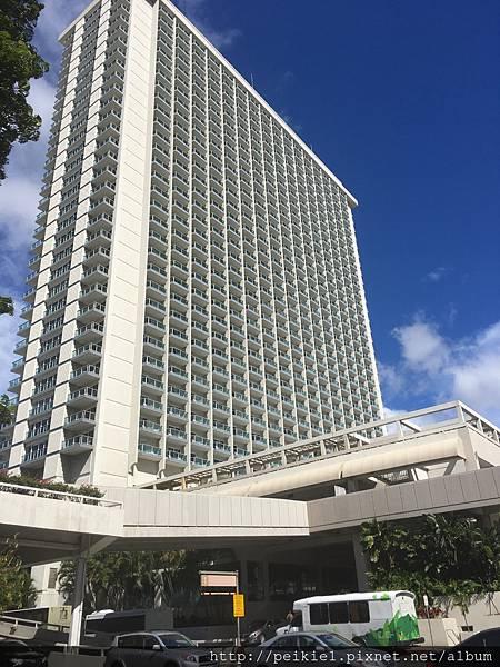 【我的夏威夷】夏威夷市中心的阿拉莫阿拉飯店