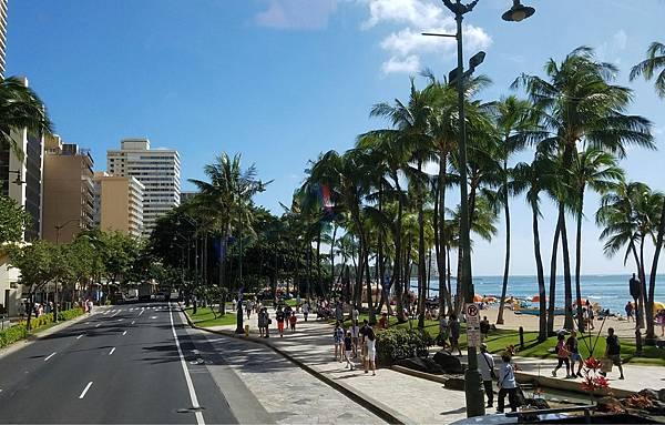 【我的夏威夷】夏威夷waikiki海灘(威基基)