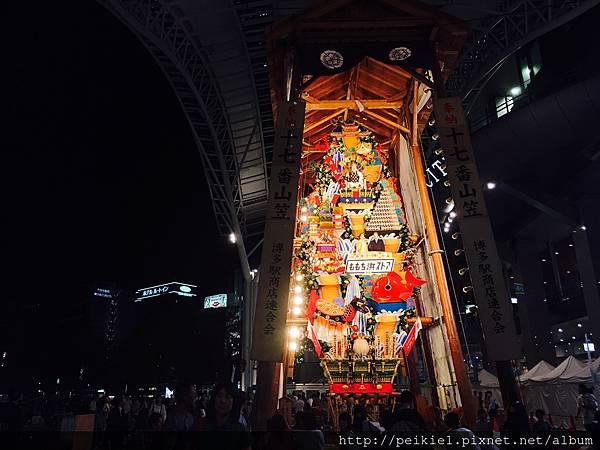 2017福岡山笠祭り。2017福岡山笠祭典