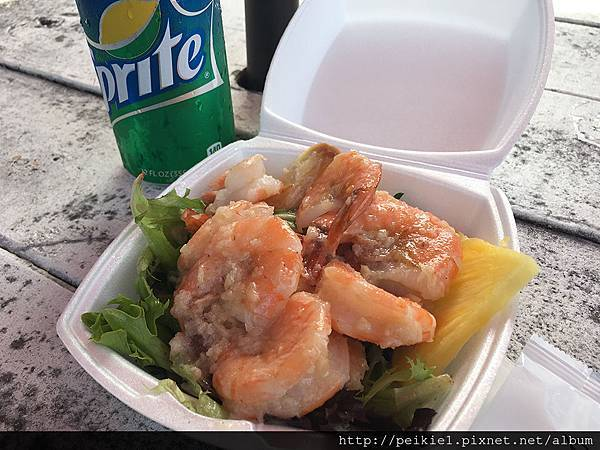 夏威夷Hawaii蝦飯餐車