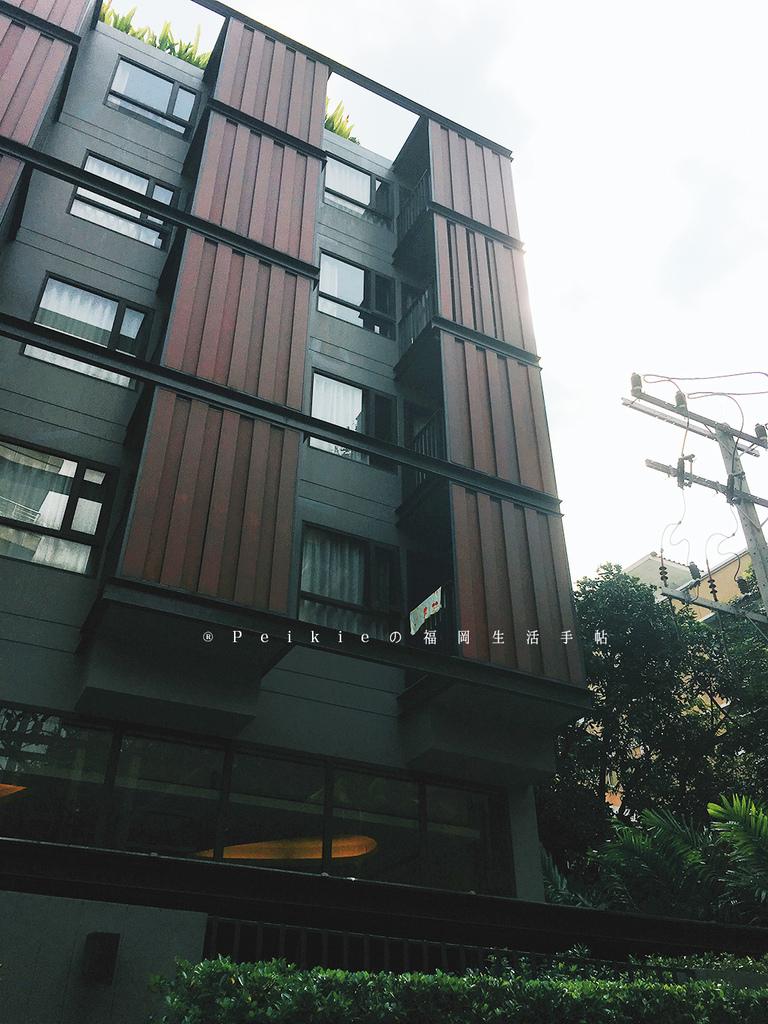 泰國曼谷CP值超高無印風Happy3 Hotel