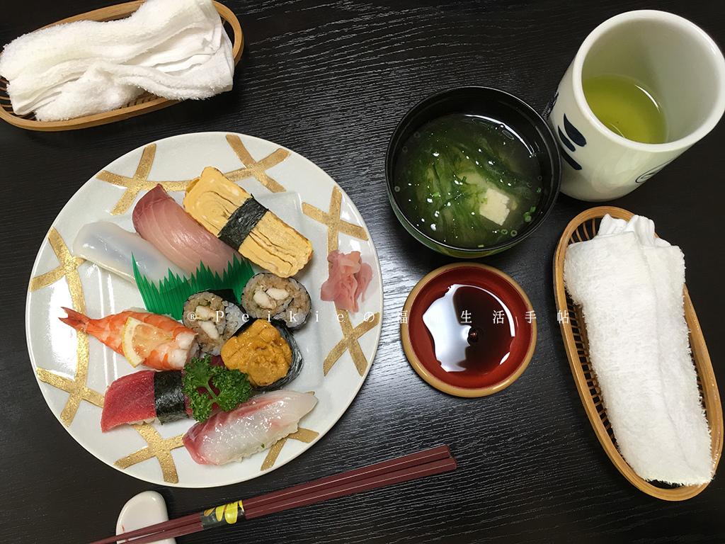 壱岐の島。三益寿司