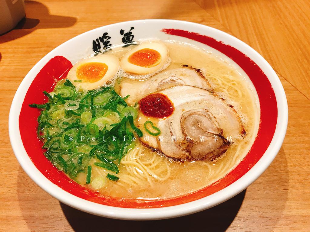 福岡中洲的暖暮拉麵