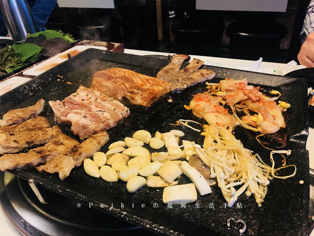 韓國首爾8色烤肉