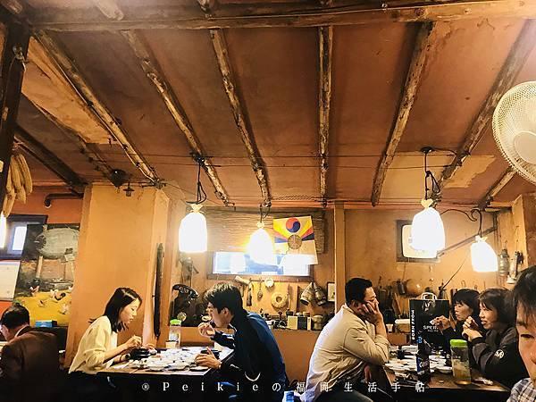 韓國首爾梨泰院田舎の食卓
