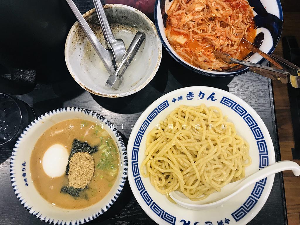 福岡中洲キリンつけ麺(麒麟沾麵)