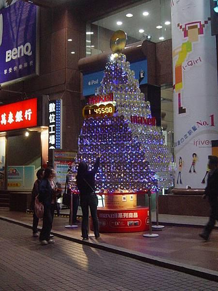 跨年倒數聖誕樹